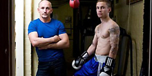 Barry McGuigan and Carl Frampton